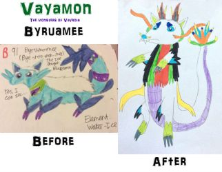 Vayamon development- Byruamee by Sia-the-Mawile