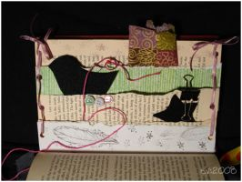 ...altered book:multipocket... by evphaedrielle