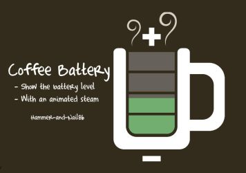 Coffee Battery by Hammer-and-Nail86