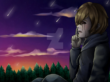 Eyeless Jack - Meteor Shower by Cross-Hatch001