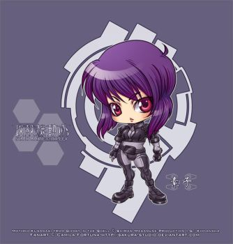 .:Standin' Alone Motoko:. by CamiFortuna