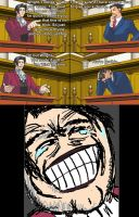 Miles Edgeworth and His Terrible Puns #4 by DarkMatter89