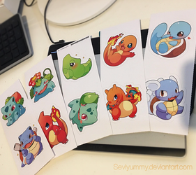 Stickers from my Store! by SeviYummy