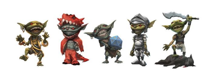 Goblins set by nJoo