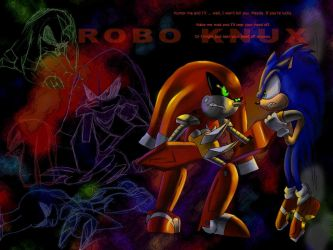 Old old Robo Knux wallpaper by NetRaptor