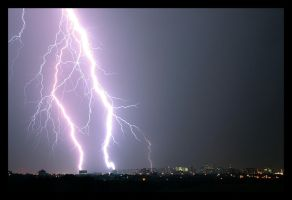 Lightning over ottawa by bigsdawg