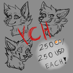 Headshot YCH batch! [ OPEN ] by Marcella-Youko