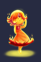 Adventure Time_Flame Princess #6 by pink-ninja