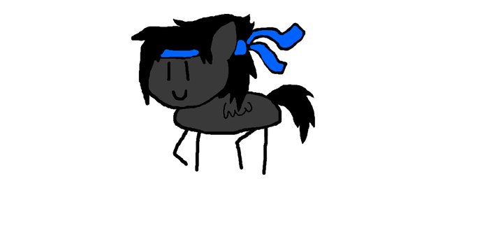 Me in Round Trip style by NativeBrony-91