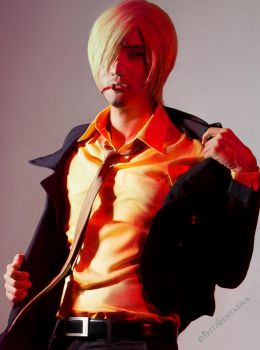 Smexy Sanji ~New World Cosplay by liui-aquino