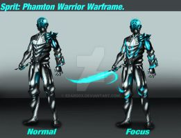 Sprit: Phantom Warrior Waframe (Geist 2.0) by edardox