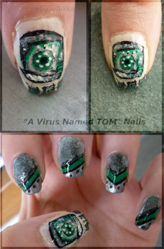 A Virus Named TOM Nails v.1 by ksiazeAikka