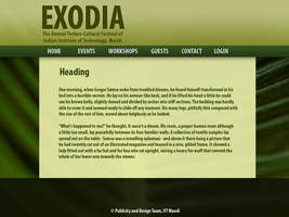 Nature-inspired Web Page Design by celebrus