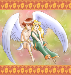 Return of Eros and Psyche by queenbean3
