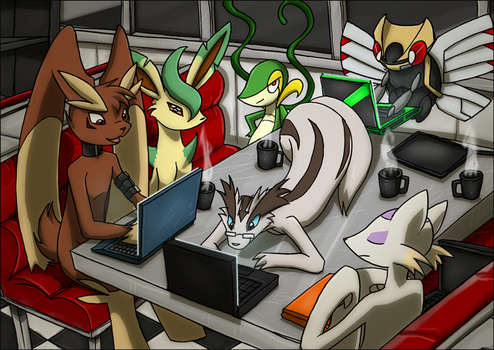 Internet Cafe by kitfox-crimson