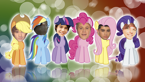 One Direction Pony Background by Gilly-Bird