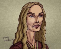 Cersei Lannister by Stnk13