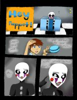 FNaF 2 Comic: Earbuds by Skywardsister