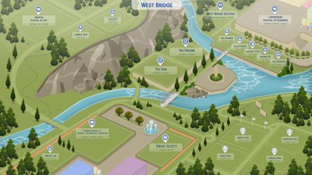 [TCWP] West Bridge University PREVIEW 1 by filipesims