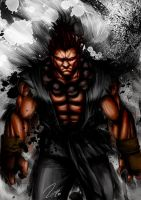 Akuma _Street Fighter_ by RamonFelinto