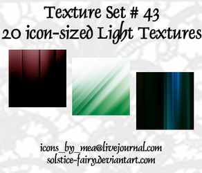 Texture Set 43 - Lights by solstice-fairy