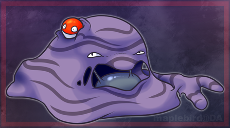 Voltorb and Muk by Maplebird