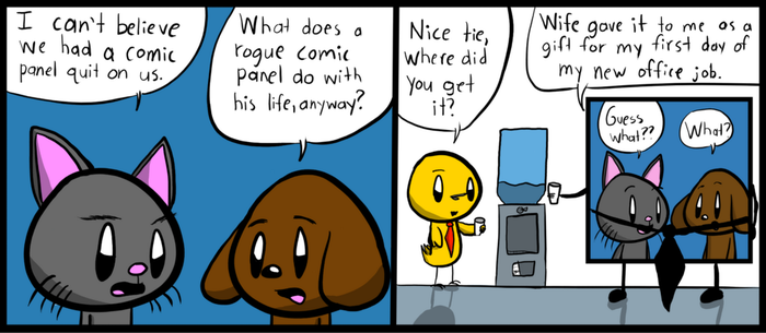 Comic Cat: A New Life by ComicCatTad