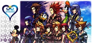 .: Kingdom Hearts 15th Anniversary :. by gingie-liu