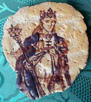 The Elvenking (cookie) by noleme