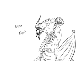the noot dragon by lightningback