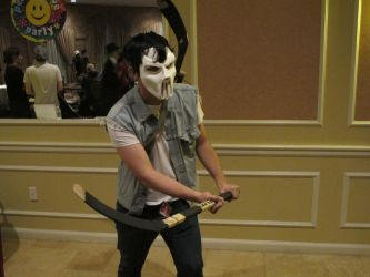 Another Anime Con 2011 - Casey Jones by VideoGameStupid