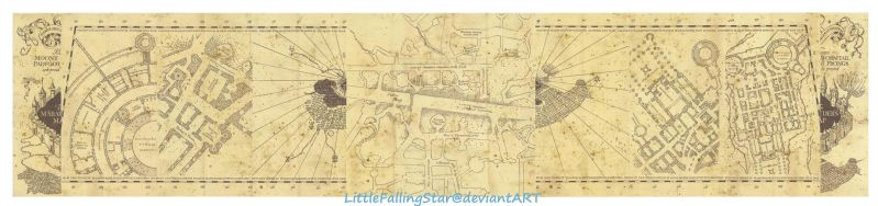 The Marauders Map by LittleFallingStar