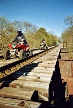 Four Wheel - High Bridge by RabbitMilk