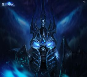 Heroes of the storm-Arthas Menethil by Liang-Xing