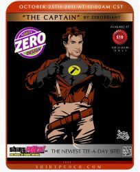 The Captain at Shirtpunch by zerobriant