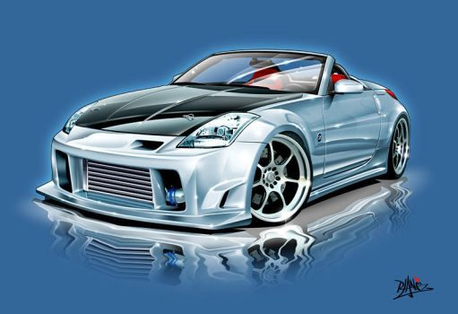 350Z Cab by Signalxb