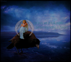 For Truly We Are All Angels by 99shadows