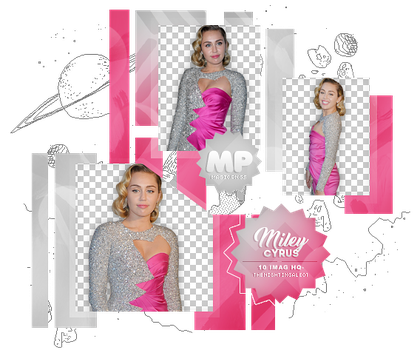 PACK PNG 1064| MILEY CYRUS by MAGIC-PNGS