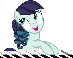 Rara Plays on a Piano by IronM17