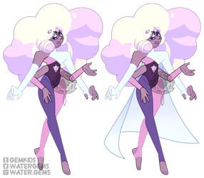 [P] Rainbow Aura Quartz by watergems
