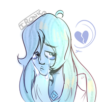 Blue Diamond- SU Sketch by Ironic-Melon