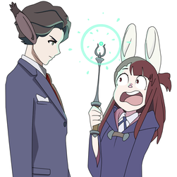 Little Witch Academia by KcCreates