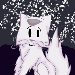 Fluffy Kitty by qile69