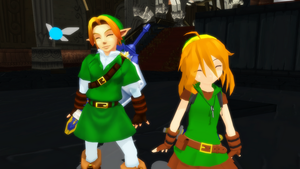 MMD Link, Lino and Navi by AnjuSendo