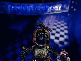 Withered Toy Chica (remake) by FreddyFredbear
