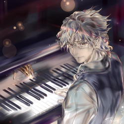 Piano. Commission. by Taiss14
