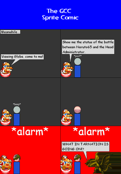 The GCC Sprite Comic 327 Blaring Alarms Red Alarm by Godzilla90sTK