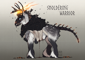[Dullah Adopt auction] Smoldering warrior [CLOSED] by Negatable