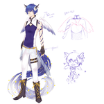 [MYO Elomimi] Lune (basic ref sheet) by sealartonline
