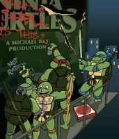 How the REAL Ninja Turtles Feel About the Movie... by RyanGiovinco